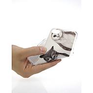 Недорогие Кейсы для iPhone 8-Кейс для Назначение Apple iPhone X / iPhone 7 Ультратонкий / С узором / Милый Кейс на заднюю панель Сова Мягкий ТПУ для iPhone X / iPhone