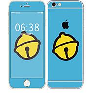 Недорогие Защитные плёнки для экрана iPhone-1 ед. Наклейки для Защита от царапин Узор PVC iPhone 6s / 6