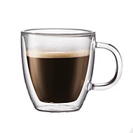 abordables Gran promoción para el hogar-Vasos Vaso de boro alto Tazas de Té / Vidrio retener el calor / Termoaislante / Don novio 1pcs