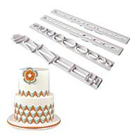 お買い得  キッチン用小物-ベークツール プラスチック DIY / クリエイティブキッチンガジェット キャンディのための / ケーキのための / チョコレート ケーキ型