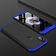 お買い得  携帯電話ケース-ケース 用途 Xiaomi Xiaomi Mi Mix 2S / Mi 6X つや消し バックカバー ソリッド ハード PC のために Xiaomi Mi Max 2 / Xiaomi Mi Mix 2 / Xiaomi Mi Mix 2S / Xiaomi Mi 6 / Xiaomi Mi 5s