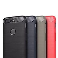 お買い得  携帯電話ケース-ケース 用途 OnePlus OnePlus 5T 超薄型 バックカバー ソリッド ソフト TPU のために OnePlus 5T