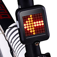 preiswerte Taschenlampen, Laternen & Lichter-Fahrradrücklicht / Sicherheitsleuchten / Rückleuchten LED Radlichter Radsport Wasserfest, Tragbar, Faltbar Li-Ionen 200 lm Rot Radsport