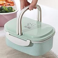 abordables Almacenamiento de alimentos y recipientes-Organización de cocina Fiambreras / Almacenamiento de alimentos Plástico Almacenamiento 1pc
