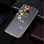Недорогие Чехлы и кейсы для Galaxy S7-Кейс для Назначение SSamsung Galaxy S9 Plus / S9 IMD / С узором Кейс на заднюю панель одуванчик Мягкий ТПУ для S9 / S9 Plus / S8 Plus
