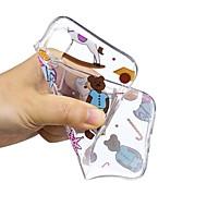 Недорогие Кейсы для iPhone 8 Plus-Кейс для Назначение Apple iPhone X / iPhone 6 С узором Кейс на заднюю панель Животное Мягкий ТПУ для iPhone 8 Pluss / iPhone 7 Plus /