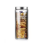 abordables Almacenamiento de alimentos y recipientes-Organización de cocina Tupperwares / Tarros de galletas / Almacenamiento de alimentos Cristal Almacenamiento 1pc