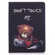 cheap iPad  Cases / Covers-Case For Apple iPad (2017) iPad Pro 9.7 Card Holder Wallet with Stand Pattern Auto Sleep / Wake Up Full Body Cases Animal Hard PU Leather