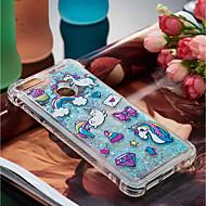 Case สำหรับ Huawei P10 Lite / P smart Shockproof / Flowing Liquid / Pattern ปกหลัง Unicorn Soft TPU สำหรับ P10 Lite / P8 Lite (2017) / P smart