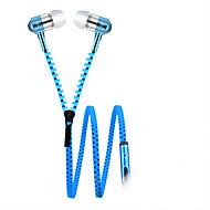 お買い得  -Factory OEM 耳の中 ケーブル ヘッドホン 動的 Aluminum Alloy 携帯電話 イヤホン マイク付き / ボリュームコントロール付き ヘッドセット