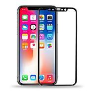 Недорогие Защитные плёнки для экрана iPhone-Защитная плёнка для экрана для Apple iPhone X Закаленное стекло 1 ед. Защитная пленка для экрана HD / Уровень защиты 9H / Взрывозащищенный