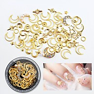abordables Maquillaje y manicura-1pcs Metálico Joyería de uñas Nail Art Forms