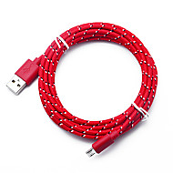 Micro USB Quick Charge Cable Samsung / Huawei / LG for 300 cm For TPE