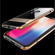 Недорогие Кейсы для iPhone 8 Plus-Кейс для Назначение Apple iPhone X iPhone 8 со стендом Прозрачный Кейс на заднюю панель Однотонный Мягкий ТПУ для iPhone X iPhone 8 Pluss