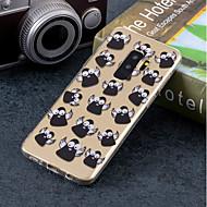 Недорогие Чехлы и кейсы для Galaxy S9-Кейс для Назначение SSamsung Galaxy S9 Plus / S9 IMD / С узором Кейс на заднюю панель Мультипликация Мягкий ТПУ для S9 / S9 Plus / S8 Plus