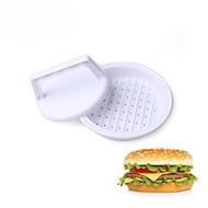 お買い得  キッチン用小物-ハンバーガープレスツール肉パティハンバーガーメーカー型DIYキッチンツール