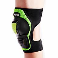お買い得  -WOSAWE オートバイの保護装置for膝パッド フリーサイズ スパンデックス ポリエステル PE 耐衝撃性 耐衝撃 快適 高品質 左または右膝に適合