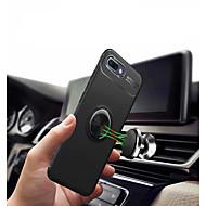 preiswerte Handyhüllen-Hülle Für Huawei Honor 10 mit Halterung / Ring - Haltevorrichtung / Ultra dünn Rückseite Solide Hart TPU für Huawei Honor 10