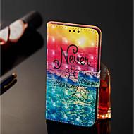 preiswerte Handyhüllen-Hülle Für Xiaomi Redmi Note 5 Pro / Xiaomi Mi Mix 2S Geldbeutel / Kreditkartenfächer / mit Halterung Ganzkörper-Gehäuse Landschaft Hart PU-Leder für Xiaomi Redmi Note 5 Pro / Xiaomi Mi Mix 2S