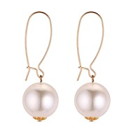 cheap -Women's Long Drop Earrings - Imitation Pearl Vintage, Ethnic, Fashion Gold For Party / Evening / Night out&Special occasion