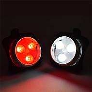 お買い得  -後部バイク光 / 安全ライト / テールランプ LED 自転車用ライト サイクリング 防水, パータブル, 調整可 リチウムイオンポリマー 200 lm 内蔵リチウム電池駆動 / 充電式 / 電源 / CR2031バッテリー ホワイト / レッド サイクリング - WOSAWE