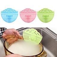 お買い得  キッチン用小物-クリップ式のデザインcolanders笑顔の台所ストレーナー排水器