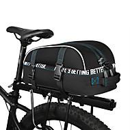 お買い得  -ROSWHEEL 8 L 自転車用リアバッグ 防水, 防雨, 多層式 自転車用バッグ 600Dポリエステル 自転車用バッグ サイクリングバッグ サイクリング / バイク / 反射性ストリップ