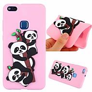 preiswerte Handyhüllen-Hülle Für Huawei P10 Lite Stoßresistent / Muster Rückseite Panda Weich TPU für P10 Lite