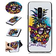 Недорогие Чехлы и кейсы для Galaxy S9-Кейс для Назначение SSamsung Galaxy S9 Plus / S9 С узором Кейс на заднюю панель Фрукты Мягкий ТПУ для S9 / S9 Plus / S8 Plus
