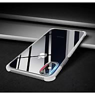 Недорогие Кейсы для iPhone 8-Кейс для Назначение Apple iPhone X / iPhone 8 Защита от удара Кейс на заднюю панель Однотонный Мягкий ТПУ для iPhone X / iPhone 8 Pluss / iPhone 8