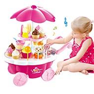 preiswerte Spielzeuge & Spiele-Tue so als ob du spielst Eis / Süßer Süßwarenladen Plastikschale Vorschule Geschenk 39 pcs