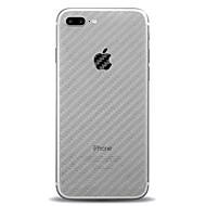 Недорогие Кейсы для iPhone 8 Plus-Кейс для Назначение Apple iPhone X / iPhone 8 Матовое / Полупрозрачный Кейс на заднюю панель Однотонный Твердый пластик для iPhone X / iPhone 8 Pluss / iPhone 8