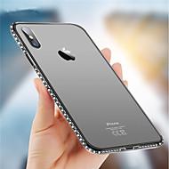 Недорогие Кейсы для iPhone 8 Plus-Кейс для Назначение Apple iPhone X / iPhone 8 Стразы Кейс на заднюю панель Сияние и блеск Мягкий ТПУ для iPhone X / iPhone 8 Pluss / iPhone 8