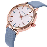 cheap Jewelry & Watches-Women's Wrist Watch Casual Watch / Lovely PU Band Fashion / Elegant Black / White / Purple