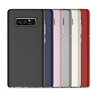Недорогие Чехлы и кейсы для Galaxy Note 8-Кейс для Назначение SSamsung Galaxy Note 8 Защита от удара Кейс на заднюю панель Однотонный Твердый ПК для Note 8