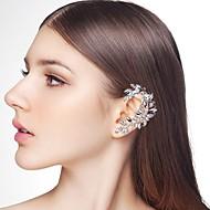 お買い得  -女性用 スタイリッシュ 耳の袖口  -  ラインストーン 創造的, スパイク スタイリッシュ, エレガント, 特大の シルバー 用途 ナイトアウト&特別な日 マスカレード