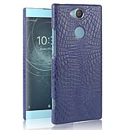 お買い得  携帯電話ケース-ケース 用途 Sony Xperia XZ2 Compact / Xperia XZ2 パターン バックカバー ソリッド ハード PC のために Sony Xperia Z5 / Z5 Mini / Xperia XZ2