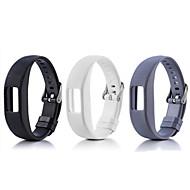 Недорогие Аксессуары для смарт-часов-Ремешок для часов для Vivofit 4 Garmin Спортивный ремешок силиконовый Повязка на запястье