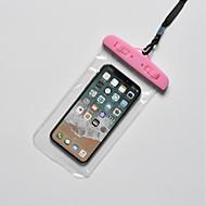 Недорогие Кейсы для iPhone 8-Кейс для Назначение Apple iPhone X / iPhone 8 Plus Водонепроницаемый Мешочек Однотонный Мягкий ТПУ для iPhone X / iPhone 8 Pluss / iPhone 8