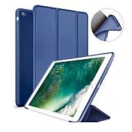 저렴한 -케이스 제품 Apple iPad (2018) / iPad (2017) 스탠드 / 마그네틱 전체 바디 케이스 솔리드 하드 실리콘 용 iPad Air / iPad 4/3/2 / iPad Mini 3/2/1