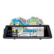 abordables DVR de Coche-Factory OEM V6 HD / Visión nocturna DVR del coche 140 Grados Gran angular 12 MP 9.7 pulgada IPS Dash Cam con WIFI / GPS / Visión nocturna Registrador de coche