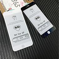 Недорогие Защитные плёнки для экрана iPhone-Защитная плёнка для экрана для Apple iPhone 6s Plus / iPhone 6 Plus Закаленное стекло 1 ед. Защитная пленка для экрана HD / Уровень защиты 9H / 3D закругленные углы