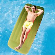 abordables Muebles de Acampada-Colchón Hinchable Al aire libre Impermeable / Portátil / Compacto Flocado 190*76*22 cm Playa / Camping / Viaje Todas las Temporadas