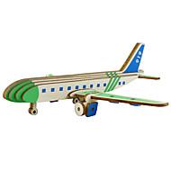 お買い得  おもちゃ & ホビーアクセサリー-3Dパズル 飛行機 親子インタラクション 木製 1 pcs 子供用 フリーサイズ ギフト