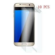 Недорогие Чехлы и кейсы для Galaxy S-Защитная плёнка для экрана для Samsung Galaxy S7 edge Закаленное стекло 10 ед. Защитная пленка для экрана Уровень защиты 9H / Защита от царапин