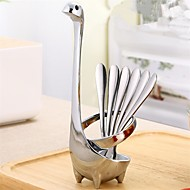 abordables Cubertería-Acero Inoxidable Moderno Tenedores, Alta calidad 5pcs