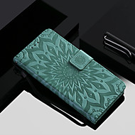 cheap -Case For OnePlus OnePlus 6 / OnePlus 5T Wallet / Card Holder / with Stand Full Body Cases Flower Hard PU Leather for OnePlus 6 / One Plus 5 / OnePlus 5T