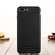 cheap -Case For Apple iPhone 8 Plus / iPhone 7 Plus IMD Back Cover Solid Colored Soft TPU for iPhone 8 Plus / iPhone 7 Plus