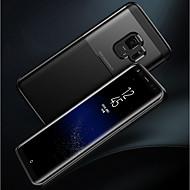 Недорогие Чехлы и кейсы для Galaxy S9 Plus-Кейс для Назначение SSamsung Galaxy S9 Plus / S9 Матовое Кейс на заднюю панель Однотонный Мягкий ТПУ для S9 / S9 Plus
