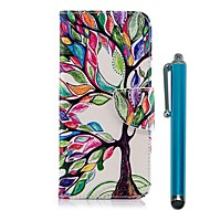 Case For Samsung Galaxy A6+ (2018) / A6 (2018) Wallet / Card Holder / with Stand Full Body Cases Tree Hard PU Leather for A6 (2018) / A6+ (2018) / A5(2017)